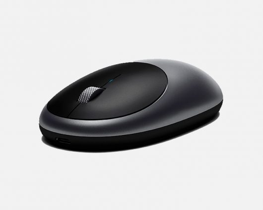 M1 Rechargeable Bluetooth Wireless Mouse - Space Grey