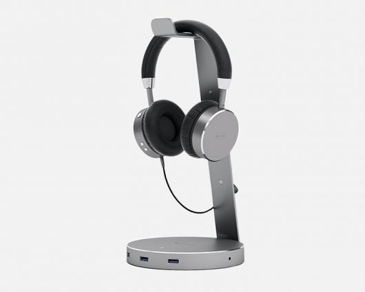 Aluminum USB 3.0 Headphone Stand