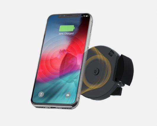 Rapid Air Vent Mount Wireless Charger with Qi Technology